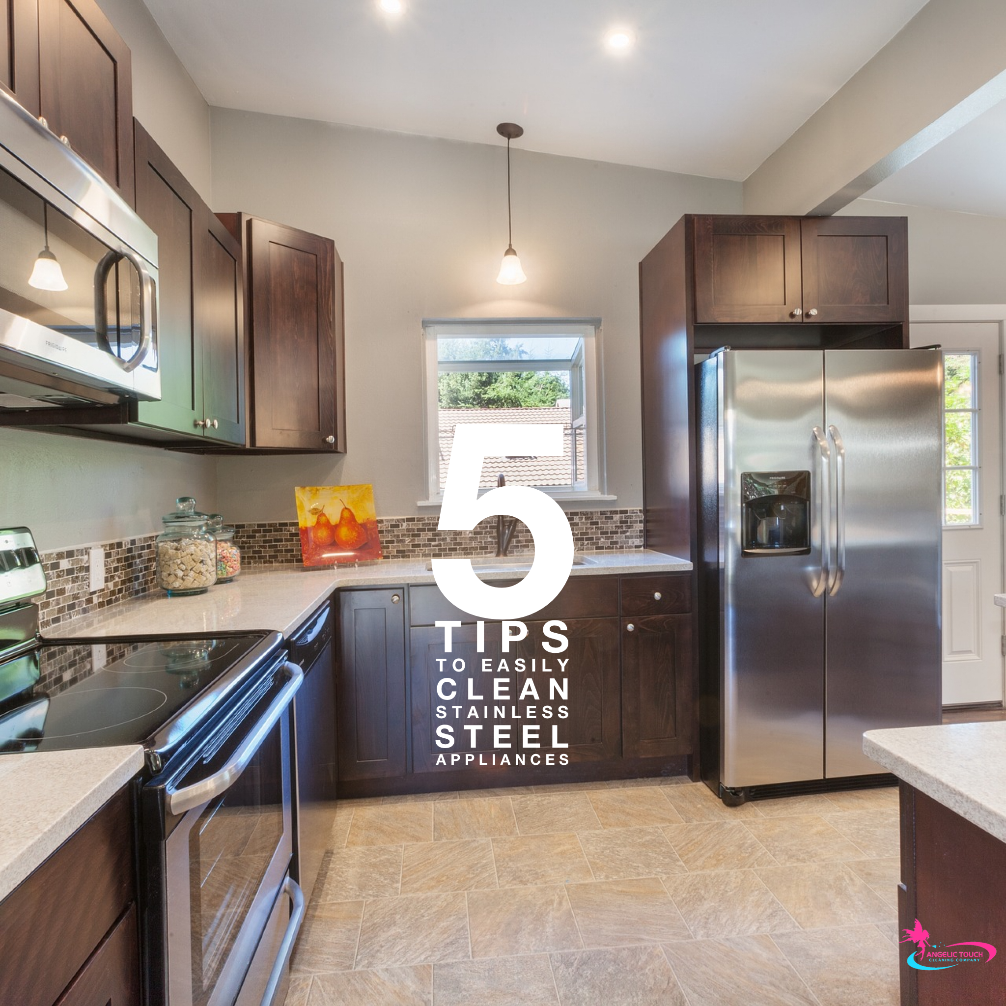 5 Tips To Easily Clean Stainless Steel Appliances