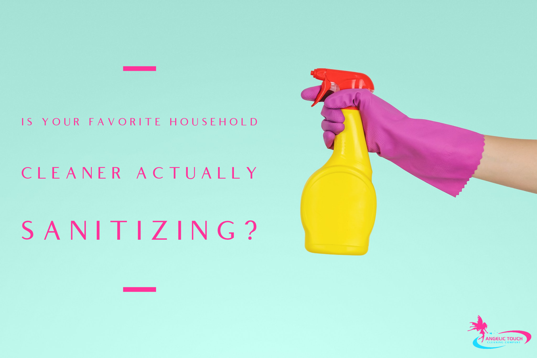 Cleaning vs. Sanitizing: Whats the Difference?