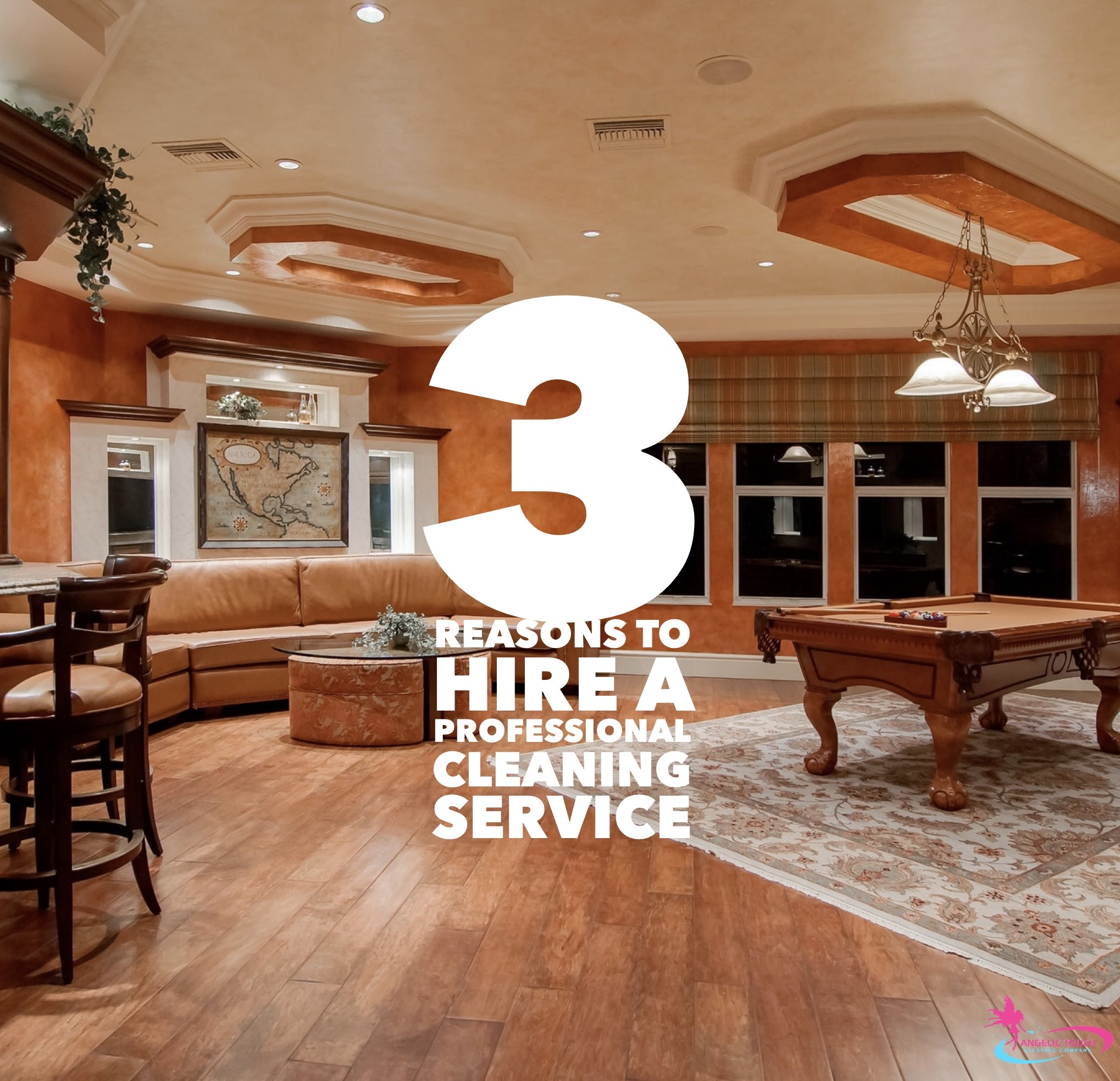 3 Reasons to Hire a Professional Cleaning Service