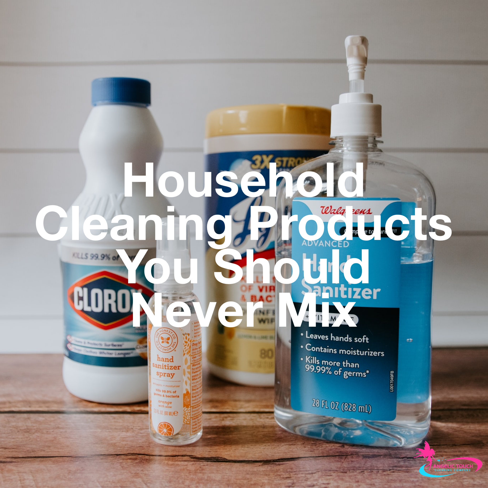 Household Cleaning Products You Should Never Mix